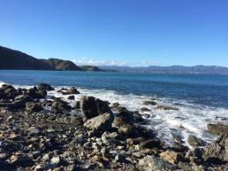 South Coast looking towards Orongorongos/Aorangi
