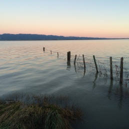 Sunset at Lake Wairarapa