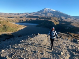 Lower Tama Lake and Ruapehu